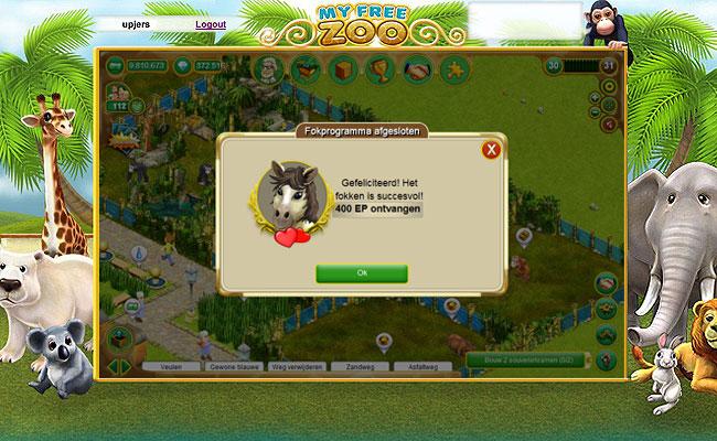 dierentuin spelletjes my free zoo
